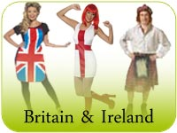 Britain & Ireland Fancy Dress
